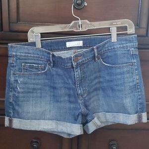 Jean shorts from loft